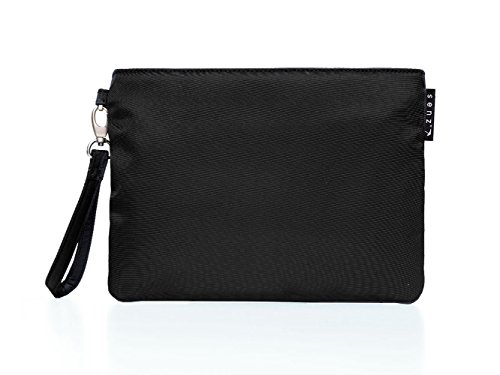 Senz Accessories Bag Fern für Damen, Pure Black/Schwarz