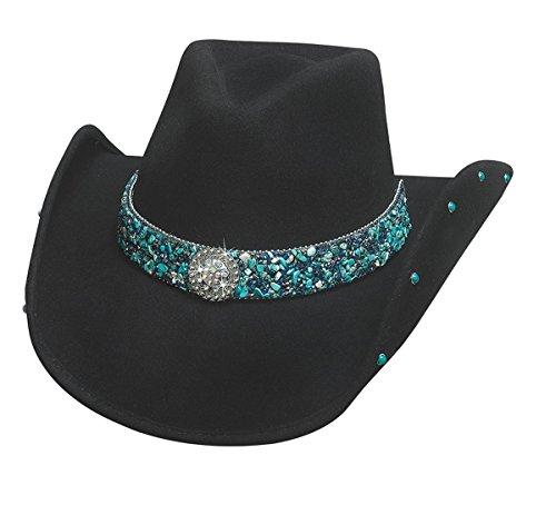 Bullhide 0734BL Sassy Cowgirl Collection Dancin Crazy Cowboy Hat [Medium]