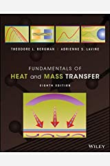 Fundamentals of Heat and Mass Transfer, 8th Edition Spiral-bound