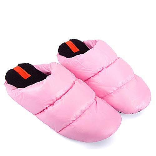 Femmes 01 Chaud Intérieur Rose Antidérapants Chambre Unisexe Accueil Chaussons Homme Nikimi Printemps Maison Chaussures Bottes gwq6U0