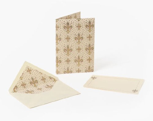 Lilium Stationery Portfolio: Small Cards and Envelopes, Italian Paper