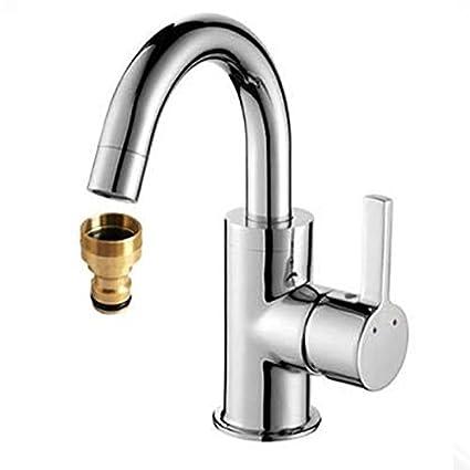 Amazon.com : Develoo 5PCS Faucet Adapter - Brass Washing ...