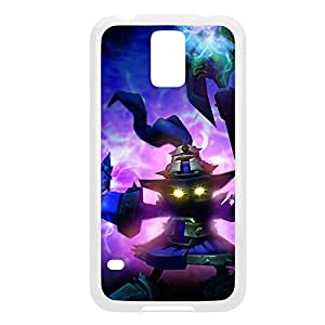 Veigar-004 League of Legends LoL case cover Samsung Galaxy S5 I9600/G9006/G9008 - Plastic White