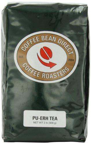 Coffee Bean Direct Pu-Erh Loose Leaf Tea, 2 Pound Bag