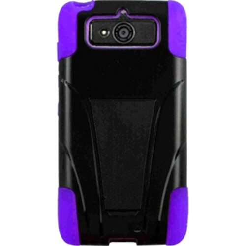 Case with Stand for Motorola Droid Mini XT1030 - Black, Purple