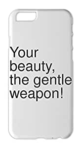 Your beauty, the gentle weapon! Iphone 6 plastic case