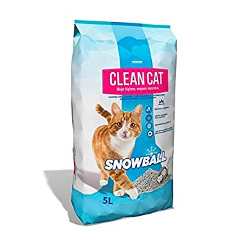 Clean cat Arena aglomerante iberamigo snowball 5 l: Amazon.es: Productos para mascotas