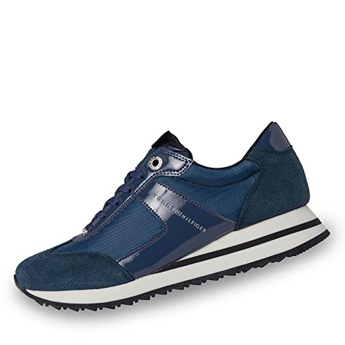 Tommy Sneakers FW0FW01894014 Angel scamosciate Hilfiger r81rB