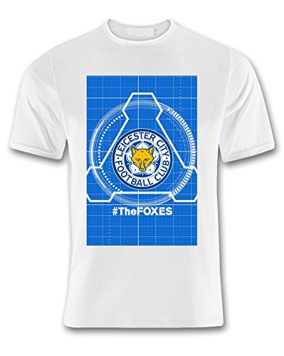 City Foxes hombres Leicester T Footy 360 para xEwtHR0qRU