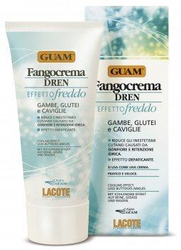 Guam Fangocrema Dren Active Mud Cream for Legs 200ml