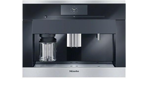 Miele CVA 6805 Integrado Totalmente automática Máquina espresso 2.3L 2, 15tazas Negro, Acero inoxidable - Cafetera (Integrado, Máquina espresso, 2,3 L, Molinillo integrado, 2300 W, Negro, Acero inoxidable): Amazon.es: Hogar