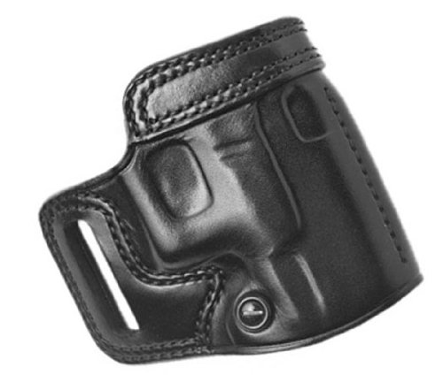 Galco AV266B Avenger Belt Holster for Kimber 1911, Right, Black