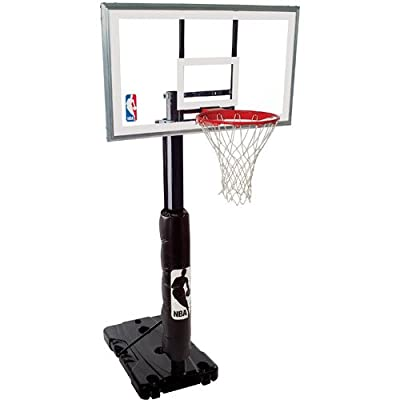 Spalding NBA 68395R 54in Polycarbonate Backboard Portable Basketball Hoop