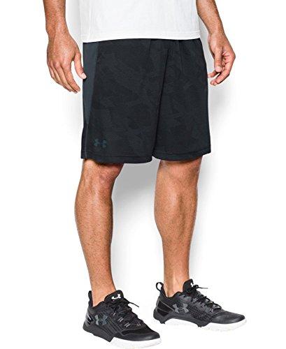 """Under Armour Men's Raid Graphic 10"""" Shorts, Black (001), X-Large"""
