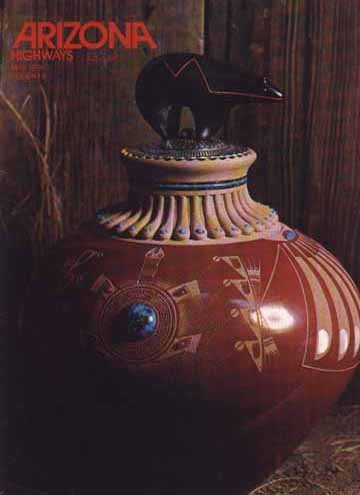 Zia Pueblo Pottery - Arizona Highways, May 1974 (Southwestern Indian Pottery) (Vol. 50, No. 5)