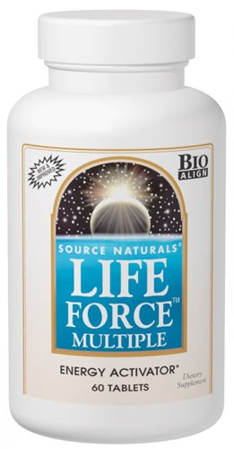 (Source Naturals Life Force Multiple - Bio-Aligned Daily Multivitamin - 180 Capsules)