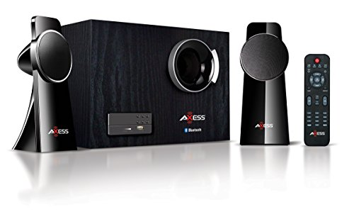 AXESS MSBT3909 2.1 Mini Entertainment System with Bluetooth by Axess