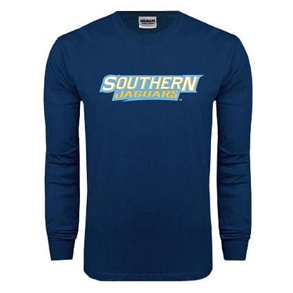 f1208bd89 Amazon.com   Southern University Navy Long Sleeve T Shirt  Southern ...