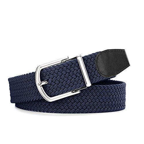 [해외]남성용 선물 - 빠른 릴리스 버클 달린 프리미엄 내구성 땋은 벨트 / Men`s Gift- Premium Durable Braided Belts for Men with Quick Release Buckle