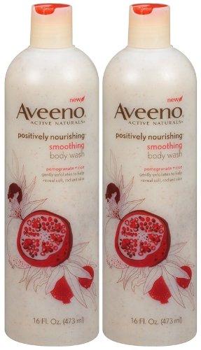 Aveeno Body Wash - Smoothing - 16 oz - 2 pk