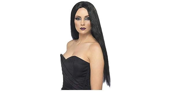 Horror-Shop Negro de la bruja de la peluca Fiona: Amazon.es: Juguetes y juegos