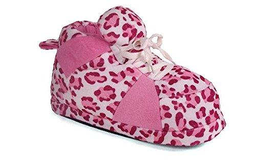 Femminile Felici Di Tennis E Standard Rosa Scarpa Leopardo Piedi Maschile Pantofole Da EqUxt7wa1n