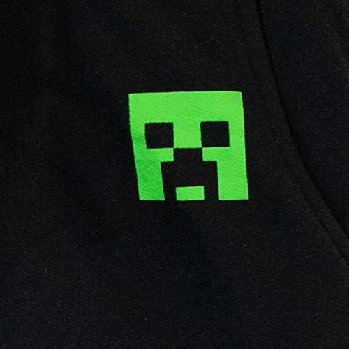 Minecraft Pantalón de Sudadera para Niños Creeper: Amazon.es: Ropa ...