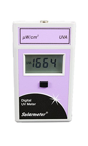 Solarmeter Model 4.2 Sensitive UVA Meter - Measures 320-400nm with range from 0-1999 µW/cm² UVA