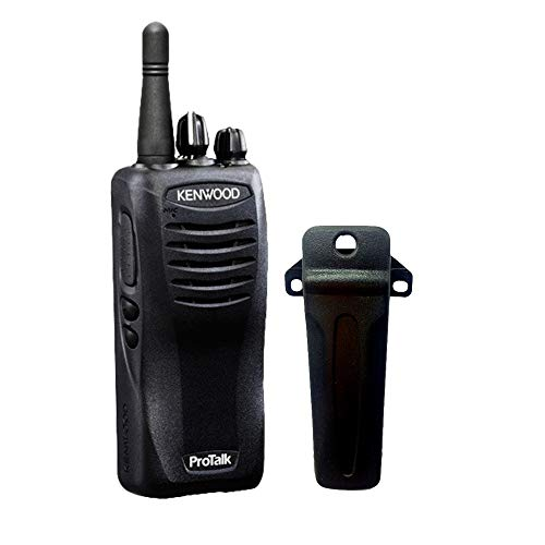 QT//DQT Encode//Decode Wireless Cloning Kenwood TK-3400U16P ProTalk 16 Channel Compact UHF FM 2-Watts Portable Two-Way Radio Range Up To 6 Miles 90 UHF Pre-Programmed Banked Frequencies