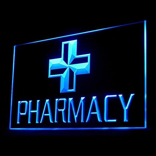 200008 Hospital Pharmacy Pharmacist Doctor Drug Display LED Light Sign