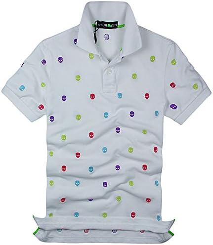 ポロシャツ メンズ 半袖 夏 ゴルフ コットン 綿 100% 刺繍 ロゴ カジュアル197282 [並行輸入品]