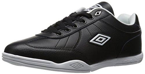 Umbro Men's Liverpool Fashion Sneaker, Black/White, 11 M US