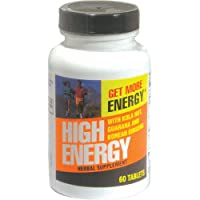 Weider High Energy 60 tabletas, botella (paquete de 3)