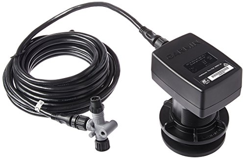 Garmin Intelliducer, thru-hull, Depth, Temp, 13-24deg deadrise, 20ft, NMEA 2000