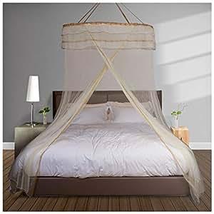 Amazon.com: Mosquitera para cama doble de malla fina de ...