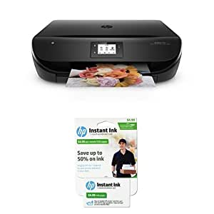 HP Envy 4520 Wireless Color Photo Printer with Scanner and Copier with Instant Ink Bundle