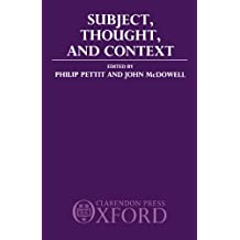 Subject, Thought, and Context