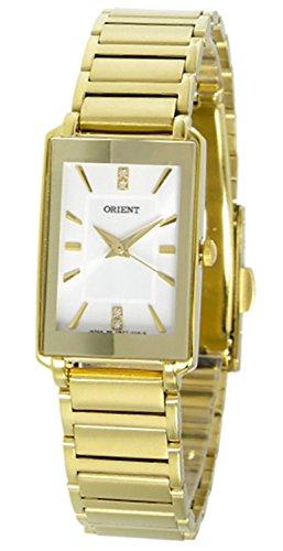 ORIENT watch quartz SUBTT007W0 White Silver / Gold Ladies overseas model