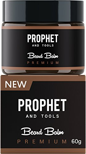 PREMIUM Beard Balm Butter and Wax Formula For Men Grooming! Adds Mild Styling & Hold, Softens Beards & Mustache, Gives Shine and Promotes Fuller Thicker Beard Oil Hair Growth! Prophet and Tools (60g)