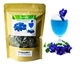 Sangkla Butterfly pea flower Organic Tea Dried Herbs Blue Seed Pack 40g