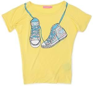 Sun Valley Junior - Camiseta, tamaño 6A, color amarillo