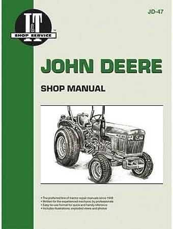 Amazon.com: John Deere I & T Diesel 850, 950, & 1050 Tractor ...