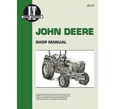 Amazon.com: JOHN DEERE I&T DIESEL 850, 950, & 1050 TRACTOR SERVICE MANUAL  NEW JD-47: I & T: Garden & OutdoorAmazon.com