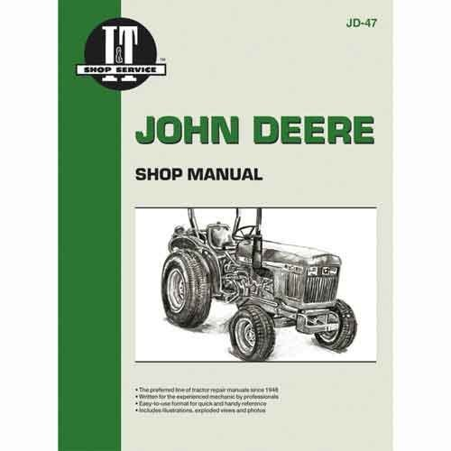 JOHN DEERE I&T DIESEL 850, 950, & 1050 TRACTOR SERVICE MANUAL NEW JD-47