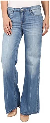 Calvin Klein Jeans Women's Petite Flare Leg Jean