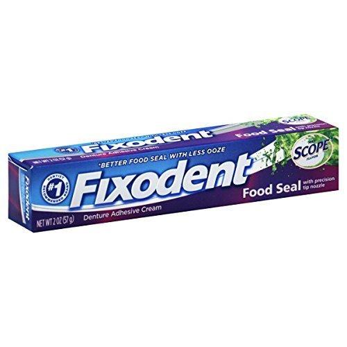 Fixodent Control Denture Adhesive Cream Plus Scope Flavor, 2 Oz by Fixodent