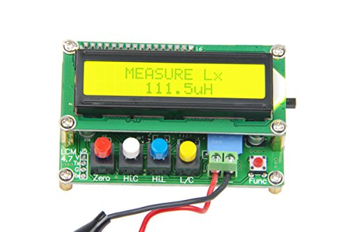 KNACRO LC100-A Digital LCD High Precision Inductance Capacitance L C Meter Accuracy 1%