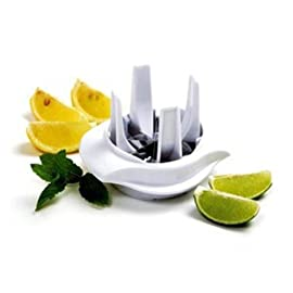 Norpro Lemon/Lime Slicer, White 2 Norpro Lemon Lime Slicer