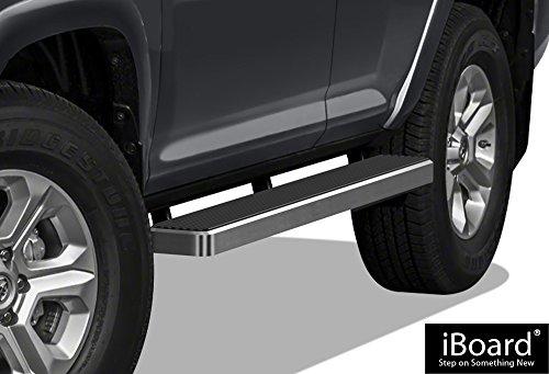 "APS iBoard Running Boards 6"" Custom Fit 2010-2016 Toyota 4Runner Trail & 17-19 TRD Off-Road & 2014-2019 SR5 (Nerf Bars | Side Steps | Side Bars)"