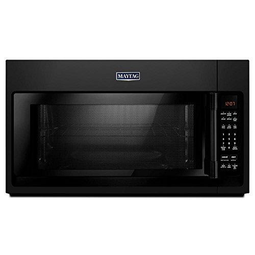 Maytag Black 2.0 cu. ft. Over-The-Range Microwave Oven - MMV4206FB (Maytag Microwave Over Range The)